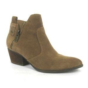 Crown Vintage Larin Boots Western Suede Booties